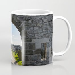 The stone gate in St Andrews Coffee Mug
