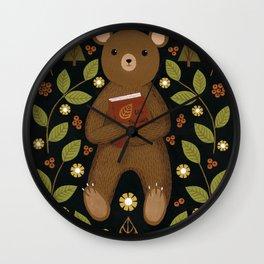 story bear Wall Clock