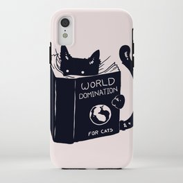 World Domination For Cats iPhone Case