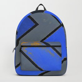 Fish - Blue Backpack