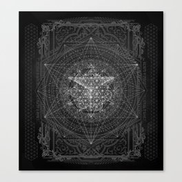 Dark Matter - by Aeonic Canvas Print