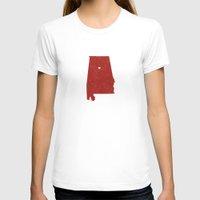 alabama T-shirts featuring Alabama by Hunter Ellenbarger