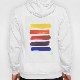 Happy Color Stripes Hoody