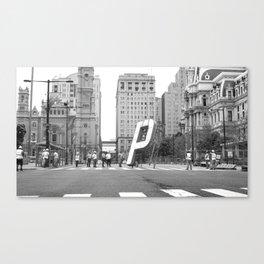 (P)NB –Philadelphia Canvas Print