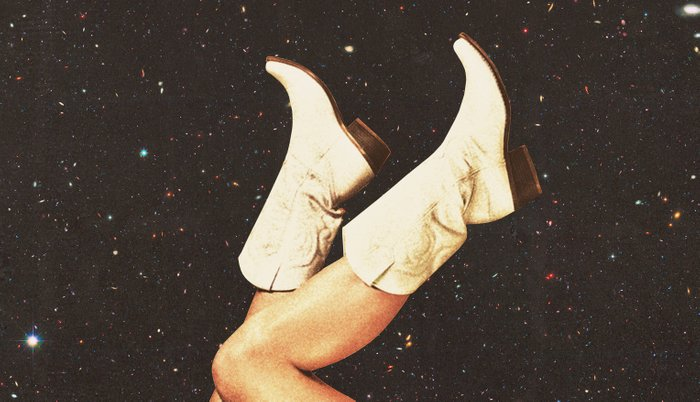 These Boots - Space Pillow Sham