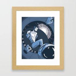 Morning on the Daedalus: Ingmar Framed Art Print