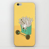 fries iPhone & iPod Skins featuring French fries by BIGMOUTH