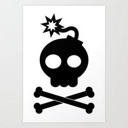 Head Bang! Art Print