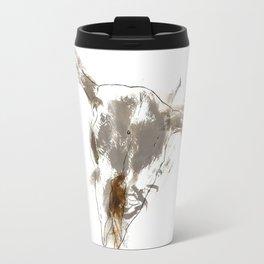 Steer Skull Travel Mug