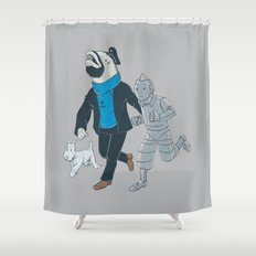The Literal Adventures of... Shower Curtain
