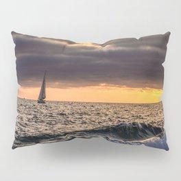 Lone Sail Pillow Sham