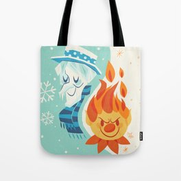 Christmas Nostalgia Tote Bag