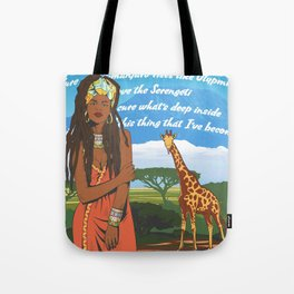 African august Tote Bag