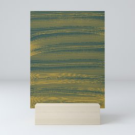 Abstraction. Graphic lines. Mini Art Print