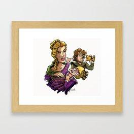Poisoned King Framed Art Print