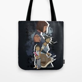Korra - To The World Tote Bag
