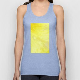 Abstract Yellow Sun by Robert S. Lee Unisex Tank Top