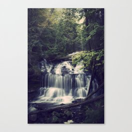 The Wagner Falls Canvas Print
