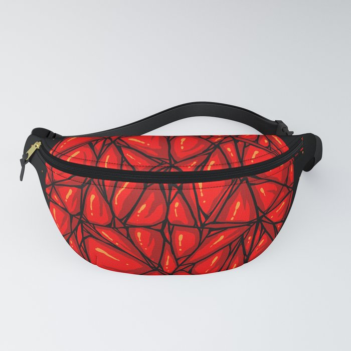 Red diamond Fanny Pack