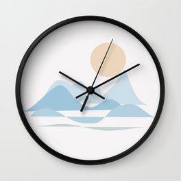 NORTHERN SEA #society6 #buyart #decor Wall Clock