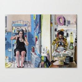 Broad City Bathroom Bong Rip Canvas Print