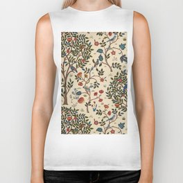"William Morris ""Kelmscott Tree"" 1. Biker Tank"