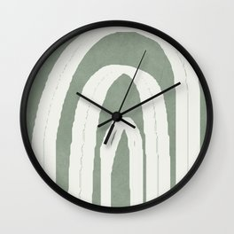 Abstract Arches Wall Clock