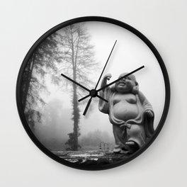 Morning Buddha Wall Clock