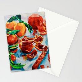 Naranjas de Verano Stationery Cards