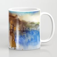 twilight Mugs featuring Twilight by Iris V.