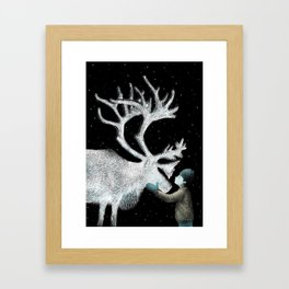 The Ice Garden Framed Art Print