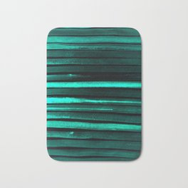 We Have Cold Winter Teal Dreams At Night Bath Mat