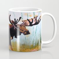 moose Mugs featuring Moose by Vicki Lynn Rae