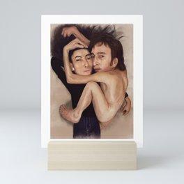 John and Yoko Mini Art Print