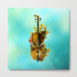 Undying Symphony Metal Print