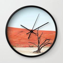 Deadvlei II Wall Clock