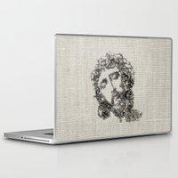 jesus Laptop & iPad Skins featuring Jesus by biblebox