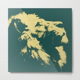 Lion Lion Metal Print