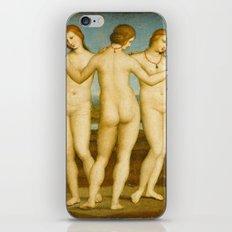 Raphael - The Three Graces iPhone & iPod Skin
