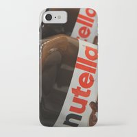 nutella iPhone & iPod Cases featuring Nutella by Max Jones