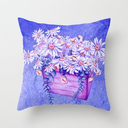little flowers for you -02- Throw Pillow