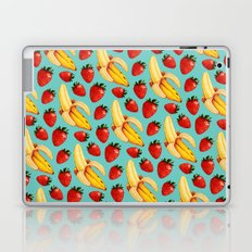 Strawberry Banana Pattern Laptop & iPad Skin