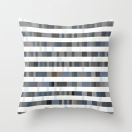 Bach Invention (Shades of Grey) Throw Pillow