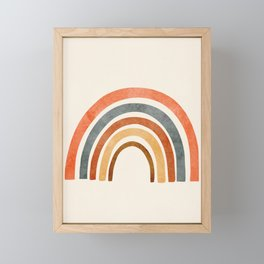 Abstract Rainbow 88 Framed Mini Art Print
