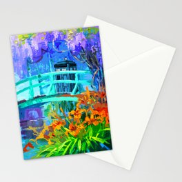 Tardis Art And The Bridge Stationery Cards