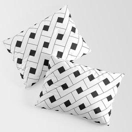 Monochrome Intricate Pattern Alpha Pillow Sham