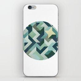 Circle Geometry iPhone Skin