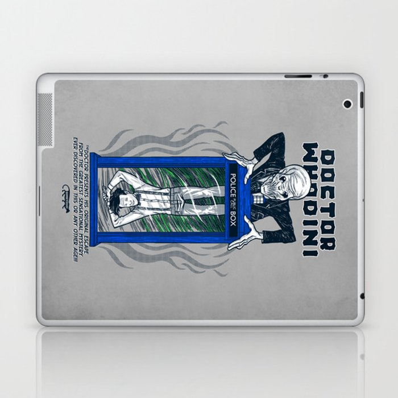 Doctor Whodini Laptop & iPad Skin