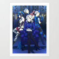 Welcome to the Velvet room Art Print