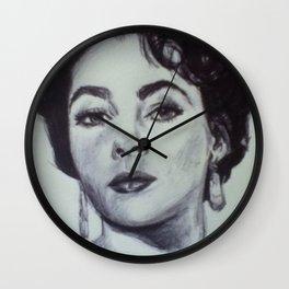 LIZ TAYLOR Wall Clock